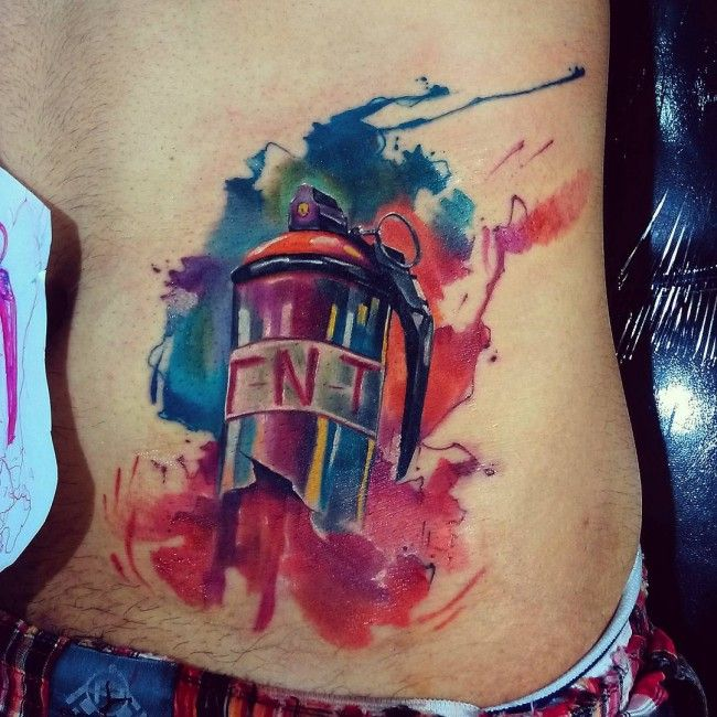 55 Funky Graffiti Tattoos – Modern Trendy Designs