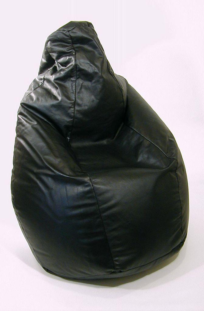 Franco Teodoro Cesare Paolini And Piero Gatti Leather Sacco Chair For Zanotta Bean Bag