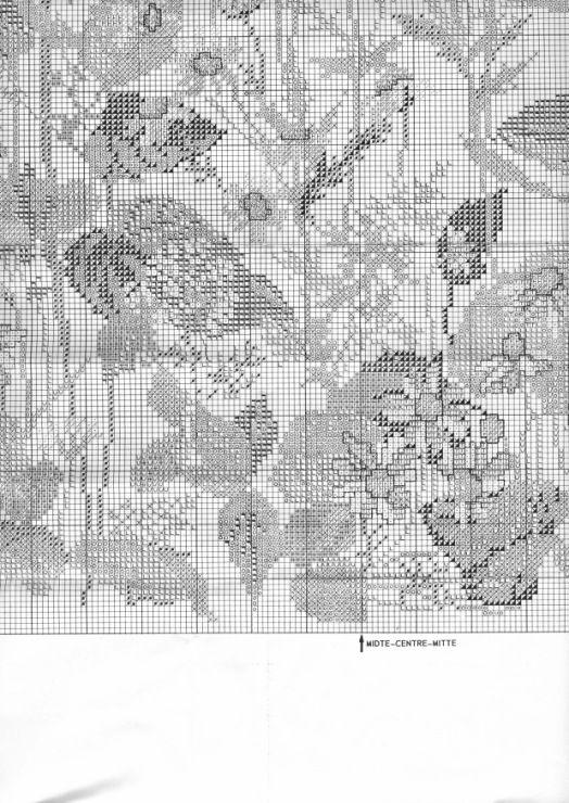 Gallery.ru / Фото #21 - Полевые цветы: 2 схемы - frango