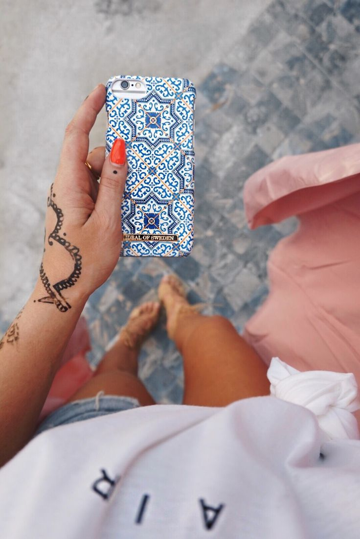 @ lices marrakech case, summery case, blue case, ideal of sweden, iphone samsung case
