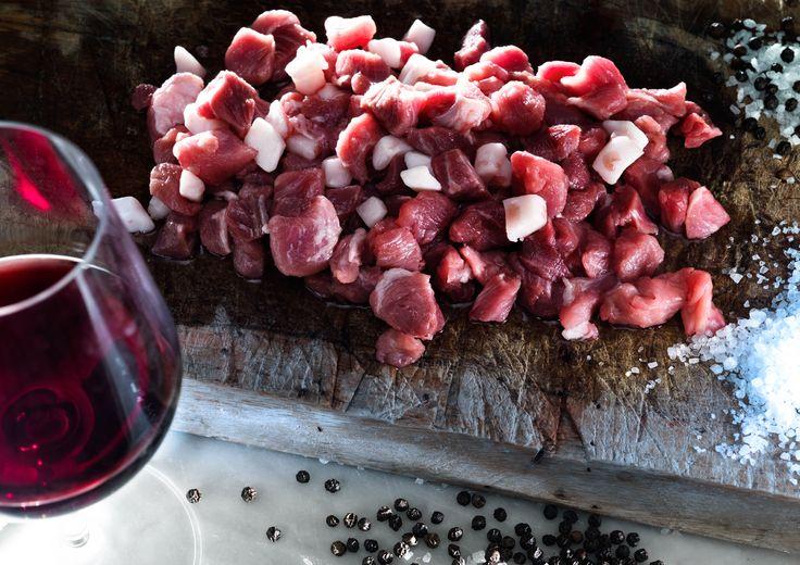 #dadolata di #carne San Patrignano.