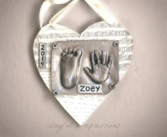 30 best baby gifts images on pinterest footprints baby gifts hand print and foot print ceramic plaque for newborn baby gift personalized handprint keepsake gift gift for expecting mom baby print negle Image collections
