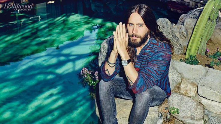 Jared Leto for Hollywood Reporter Watch Issue - H 2014 Credits Sophie Lopez Instagram & Twitter