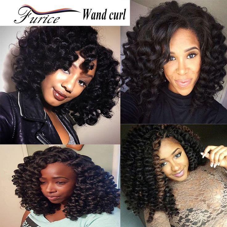 High Quality Wand Curl Twist Crochet Braids Havana Mambo Twist Freetress Crochet Braid Hair Extension Bounce Twist Braid Hair