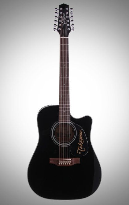Takamine EF381SC 12 String Dreadnought Cutaway Acoustic Electric Guitar