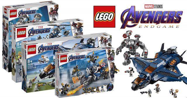 More LEGO sets from Avengers: Endgame revealed, including