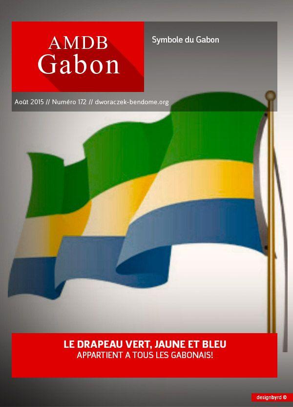 GABON : LE DRAPEAU VERT, JAUNE ET BLEU APPARTIENT A TOUS LES GABONAIS !