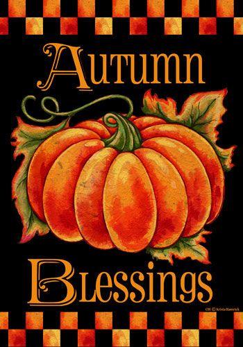 *AUTUMN BLESSINGS