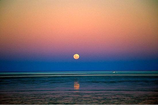 Moonrise #broome #westernaustralia