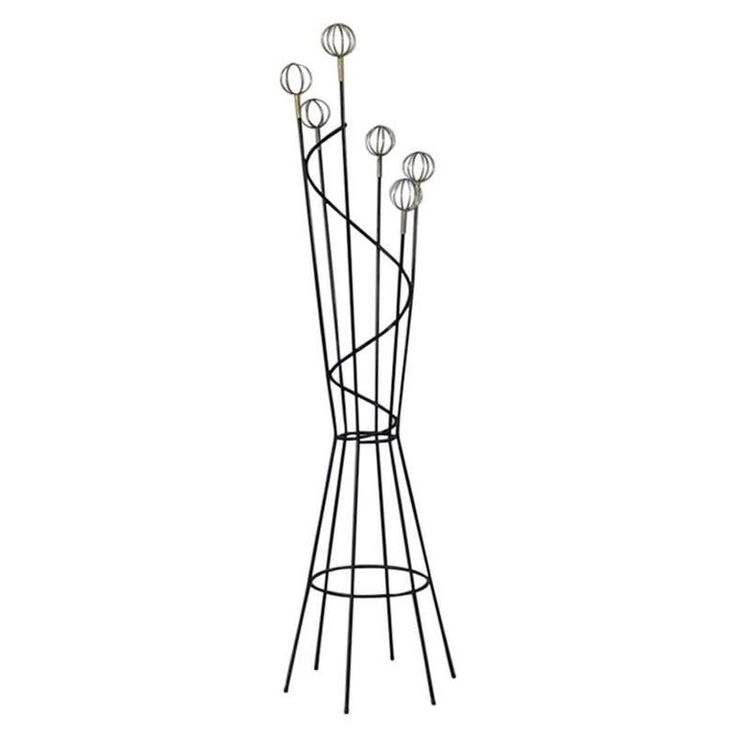 coat rack attributed to roger feraud 1950s