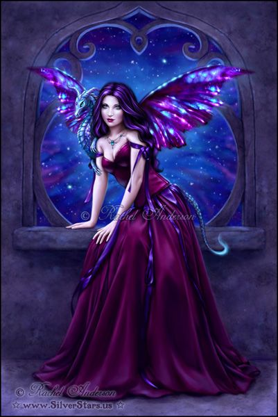Fairy & Fantasy Art by Rachel Anderson