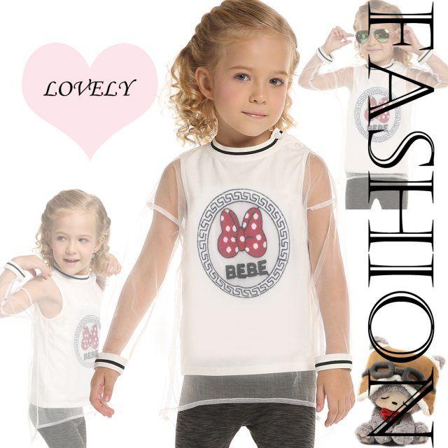Arshiner New Kids Girl's O-neck Long Gauze Sleeve Fake 2 Piece Patchwork T-shirt $18.09 Free Shipping!