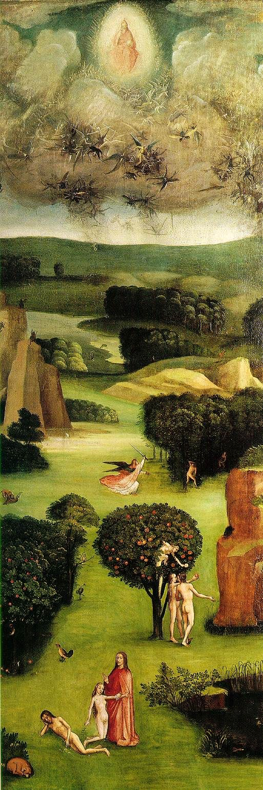 Find #FallenNovel here: http://www.amazon.com/Fallen-Biblical-Story-Good-Evil/dp/1633931897/ref   'Paradise' by Hieronymus Bosch www.artexperiencenyc.com