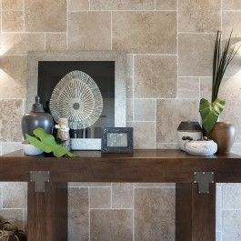 French Pattern Set Travertine Light Classic