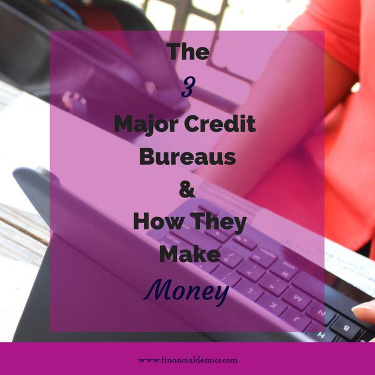 The 3 Major Credit Bureaus & How They Make Money