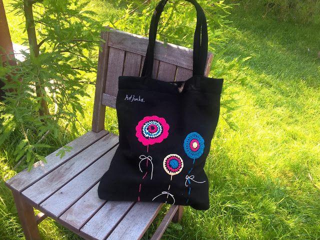 ArtJonKa: Wiosenna torba i tęsknota za ciepełkiem...