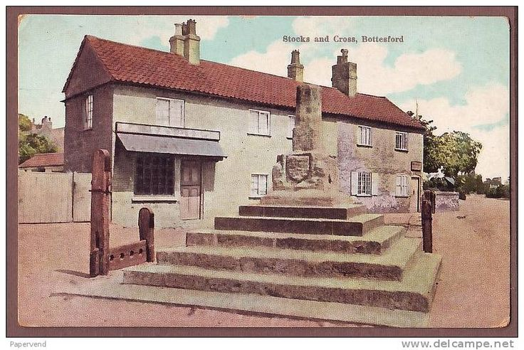 Bottesford - stocks and cross