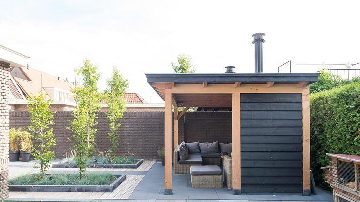 25 beste idee n over buitenkamers op pinterest patio pergola decoraties en buitenpatio 39 s - Overdekte patio pergola ...