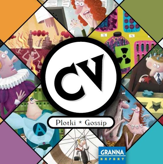 CV: Gossip, an expansion for the life-building dice game CV, gives players new ways to fight bad luck, even more opportunities to invest in happiness, and interactive rumor cards that will grant players new goals in life.