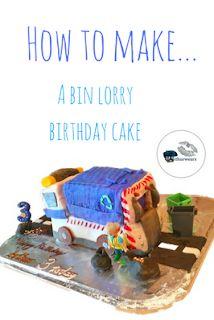 How to make a bin lorry birthday cake