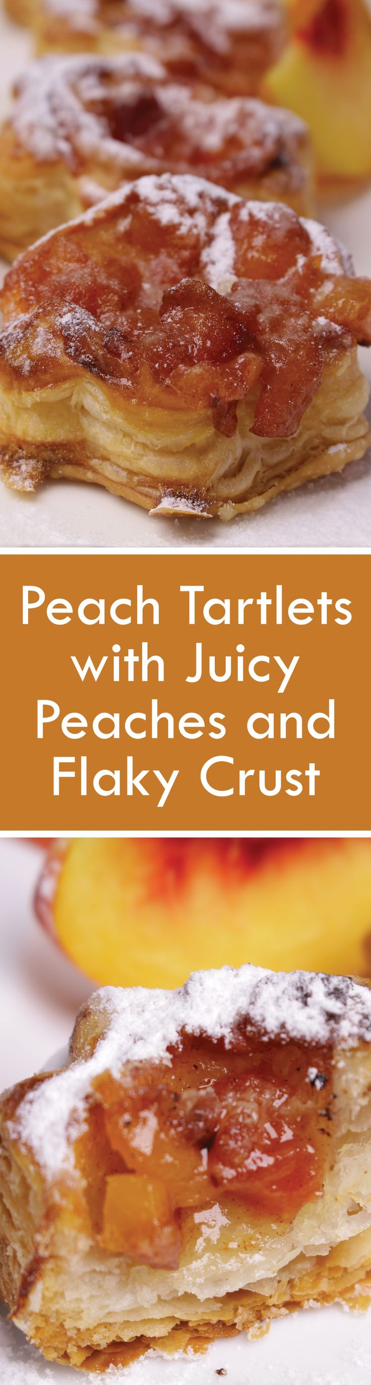 Peach Tartlets with Juicy Peaches and Flaky Crust - Nutri Recipes