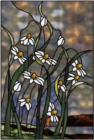 stained glass daisies - Google Search