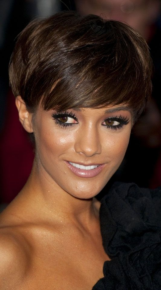 Frankie Sandford ..her hair is fab too!!