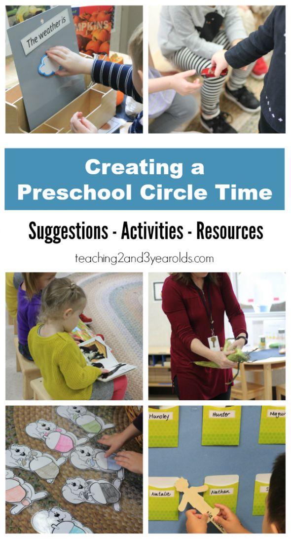 Creating a Preschool Circle Time