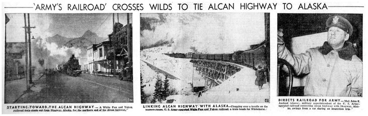 https://flic.kr/p/D77h1v | Building The Alcan Highway In The San Bernardino California Newspaper, January 8, 1943