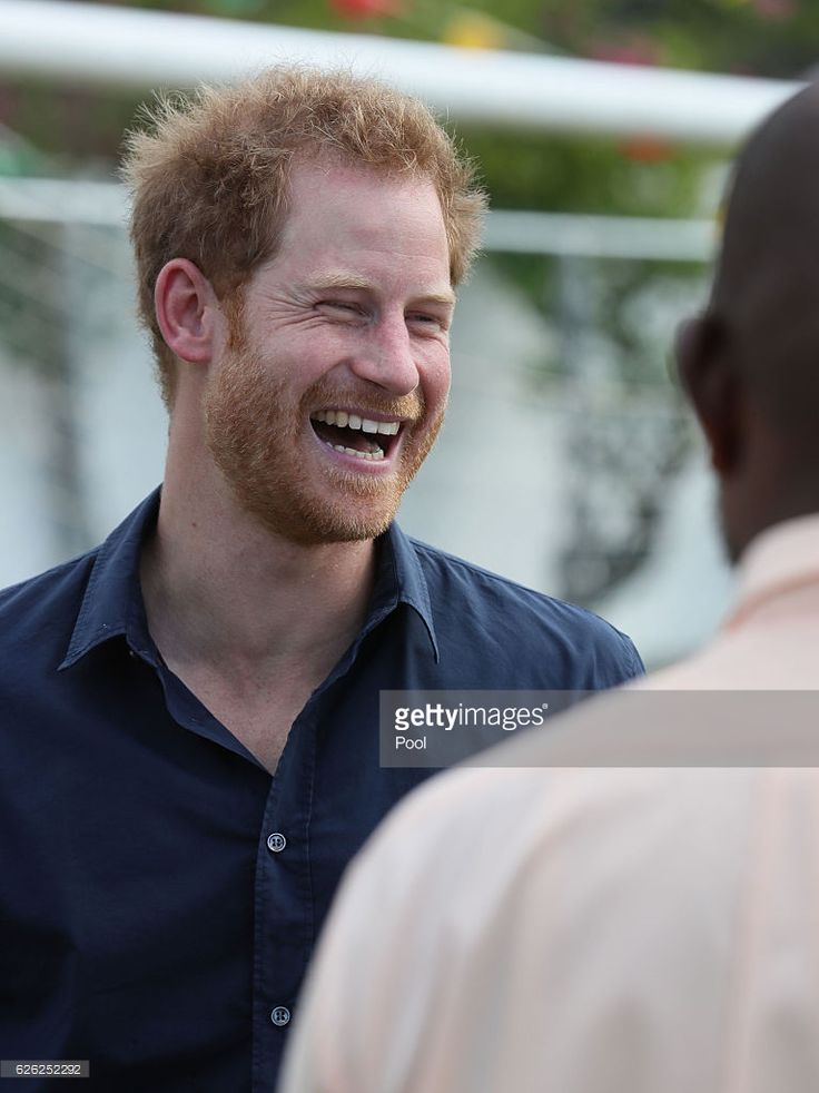 Prince Harry attends a community sports event at Queens Park Grounds on the ninth day of an official visit to the Caribbean on November 28, 2016 in St Georges, Grenada. Prince Harry's visit to The Caribbean marks the 35th Anniversary of Independence in Antigua and Barbuda and the 50th Anniversary of Independence in Barbados and Guyana.