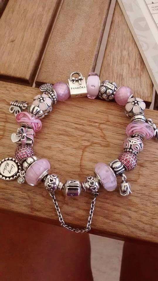 Pandora rosa e argento! More