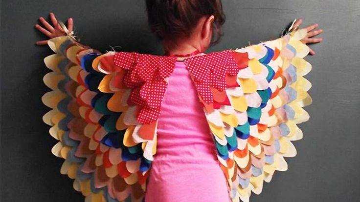 déguisement oiseau enfant fait maison