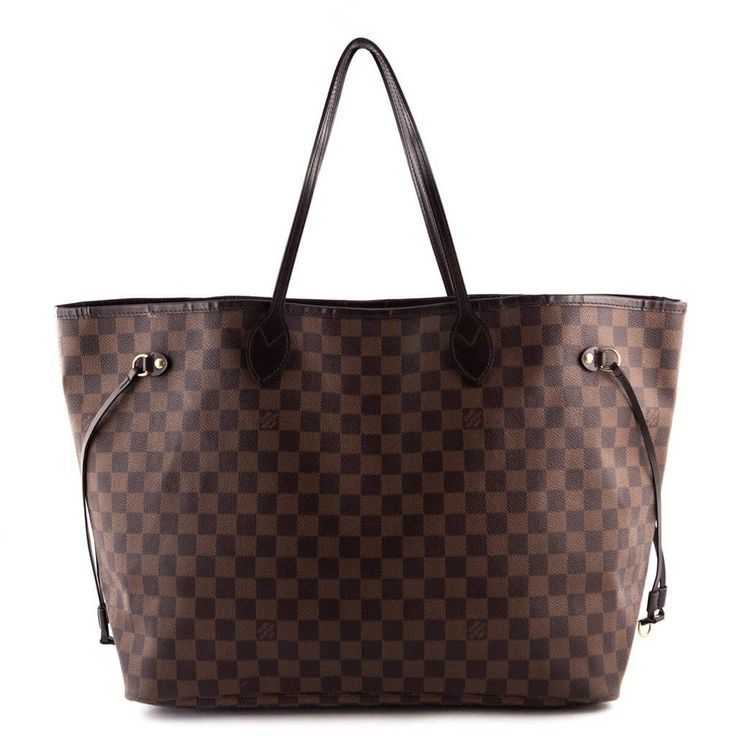 Louis Vuitton Damier Ebene Neverfull GM - LOVE that BAG - Preowned Authentic Designer Handbags