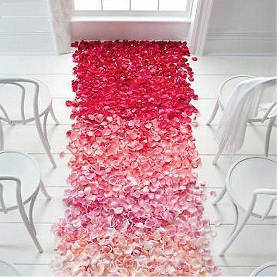 Choose Colors 500 pc Silk Rose Petals Table Artificial Flowers