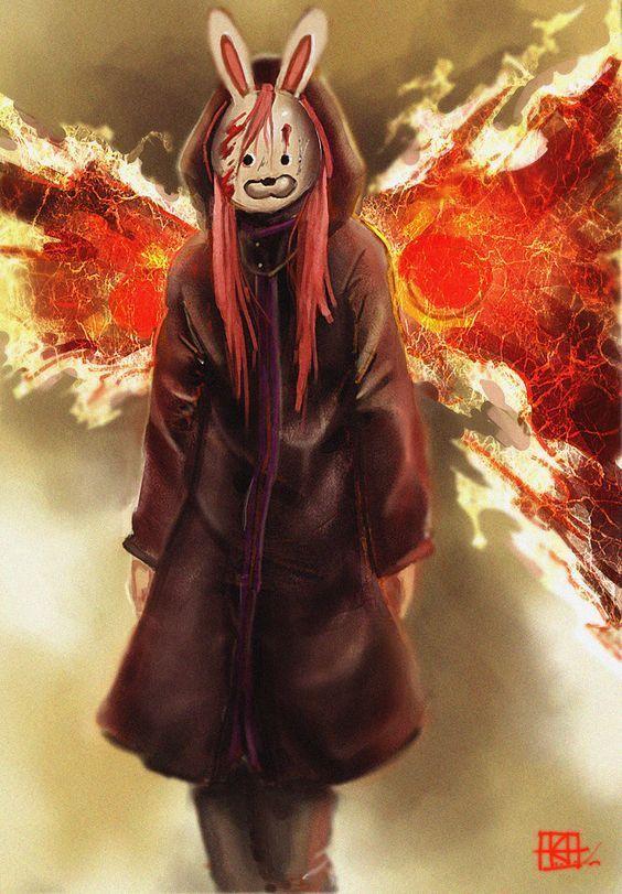 Touka-tokyo ghoul art #Touka #tokyoghoul #cosplay…