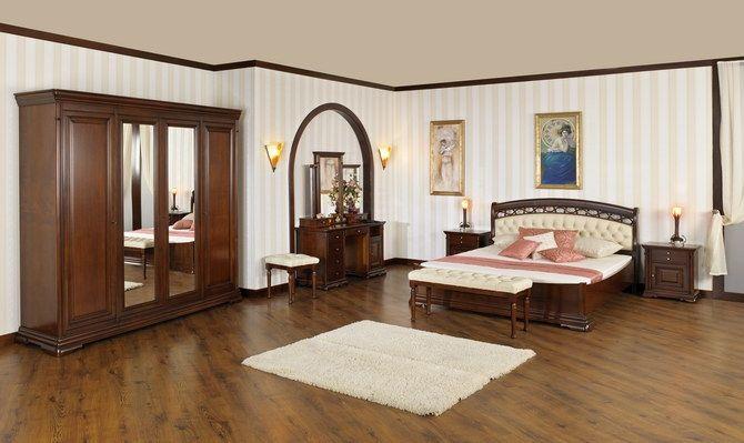 Inspirată din stilul francez Louis Philippe, din secolul XIX, aflat la mare căutare  în contemporaneitate, colecția Elegance-N cuprinde piese de mobilier din fag combinat cu panouri cu cireș și paltin, în linii simple, rotunjite. Finisajul mătăsos, în culoarea nuc, dă o notă de lux discret, iar marea varietate de capete de pat tapițate cu piele, satisface gusturile cele mai diverse.