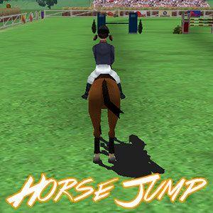 Speel Spring Ruiter op FunnyGames.nl! Doorloop met je paard het hindernissenparcours! Maak geen fouten!