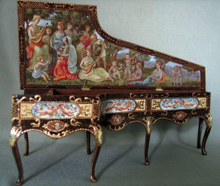 D.H.OGGETTI VARI - PIANOFORTE DI NATASHA BESHENKOVSKY