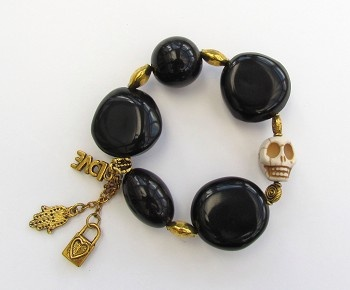 Tagua Charm Bracelet - Your Sustainably