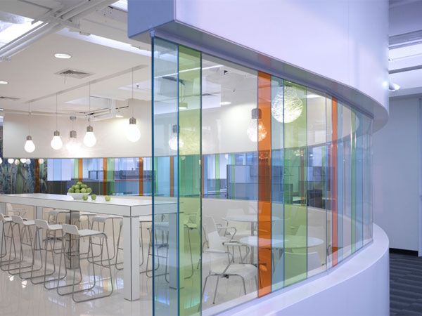Color: Corporate Interior Design | Hewlett Packard | dwp