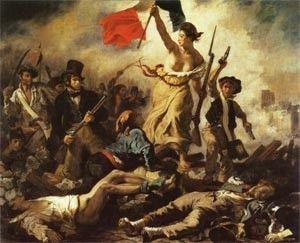 Pintores e quadros famosos - Eugène Delacroix - pegada