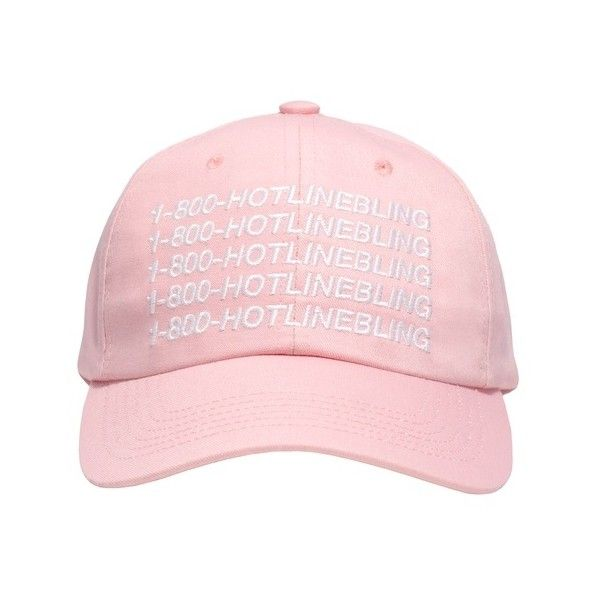 1-800-HOTLINEBLING STRAPBACK SPORTCAP October's Very Own ($45) ❤ liked on Polyvore featuring accessories and hats