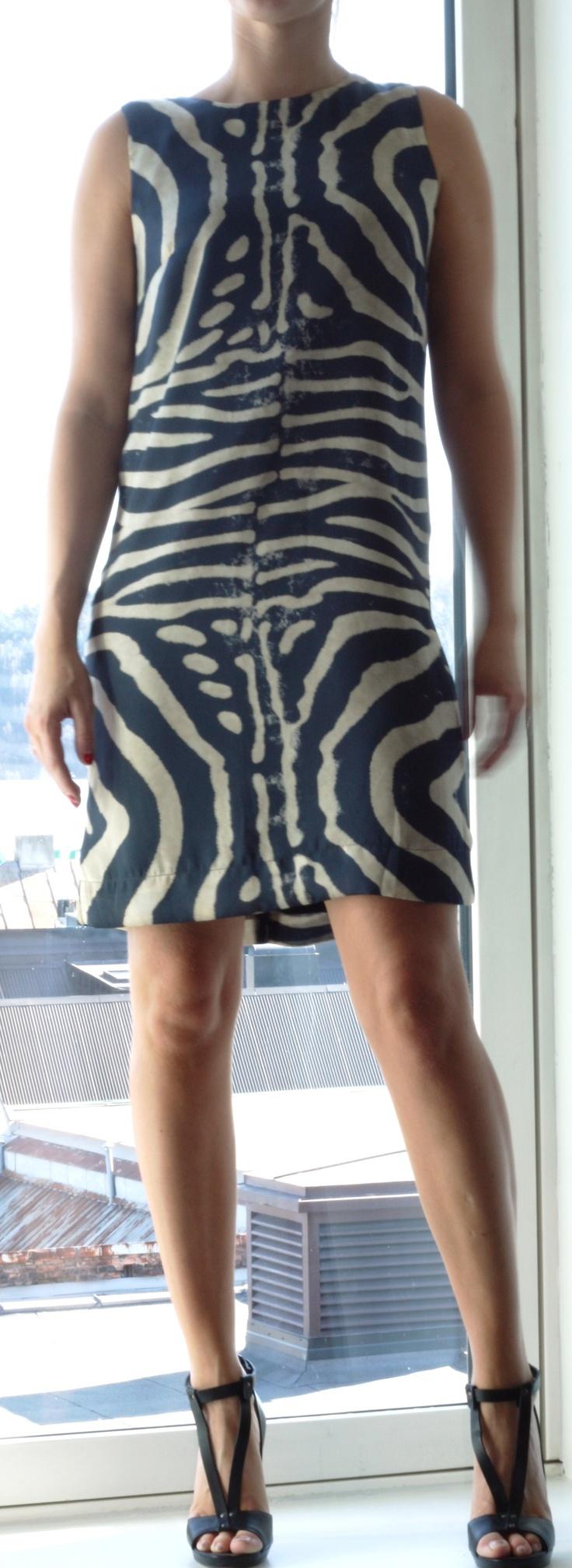 Warning! Cool dress!
