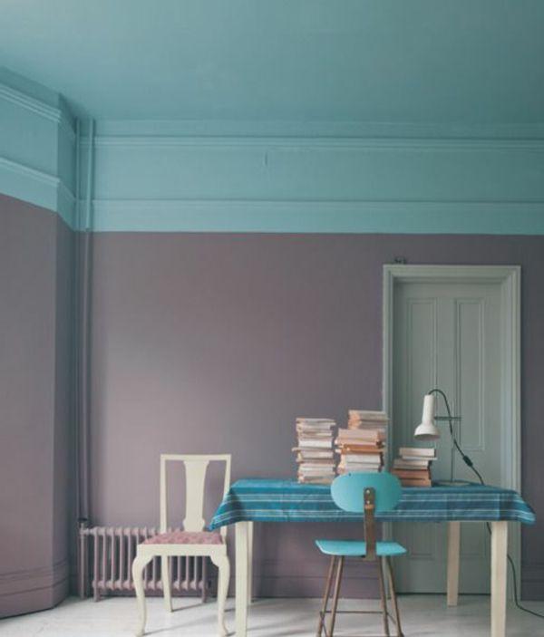 Die besten 25+ Moderne flurfarbe Ideen auf Pinterest Graue - farbgestaltung wohnzimmer blau