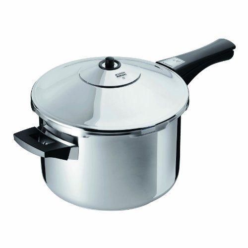 Kuhn Rikon Duromatic Energy Efficient Pressure Cooker - Saucepan Kuhn Rikon, $200+   ---   http://www.amazon.com/dp/B00004R8ZF/ref=cm_sw_r_pi_dp_VT7rtb0QNTGSPJX0