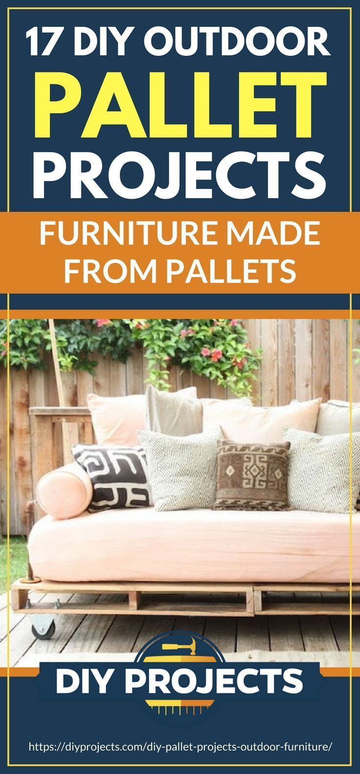 Pinterest Placard DIY Outdoor Pallet Projects