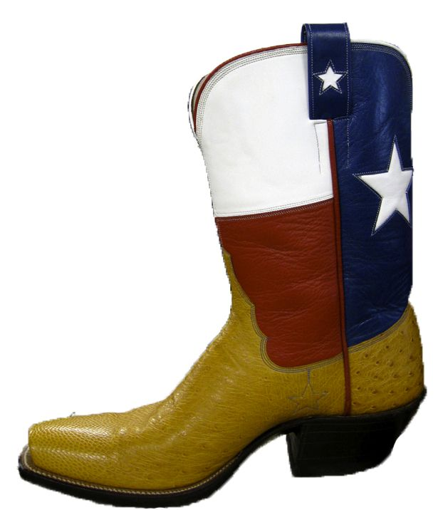 Tex Robin has been making cowboy boots in Coleman, Texas, since 1944.