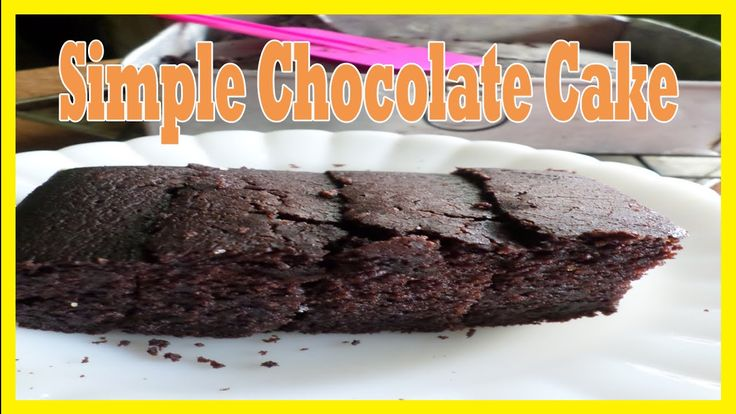 Simple chocolate cake video on my youtube channel.