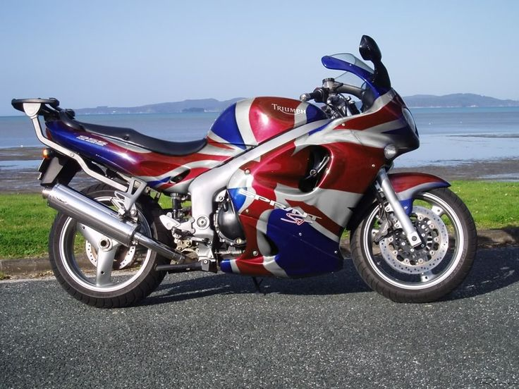 flag paint jobs Sprint Union Jack British Flag 955