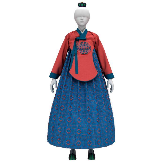 Korean Traditional Formal Hanbok